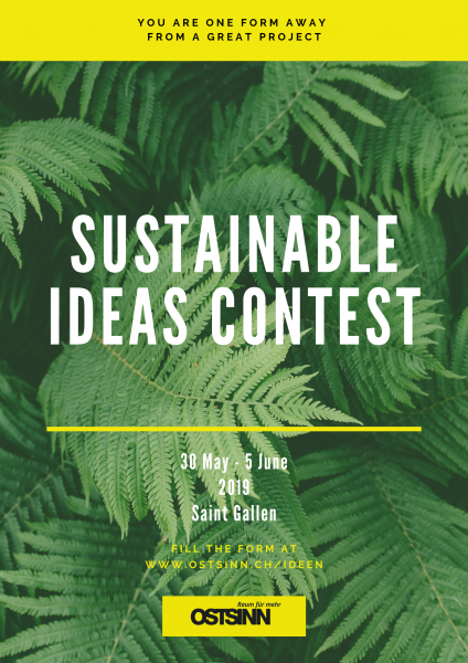 Sustainable project ideas contest